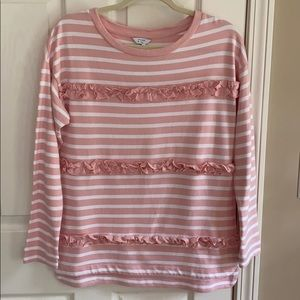 NWT! Women's Small Crown & Ivy long sleeve top!